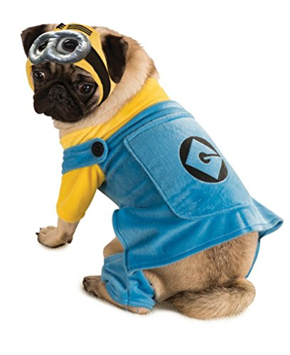 Minion Pet Costume - Small - 12-14 Inch Chest (Minion Cat Costume)