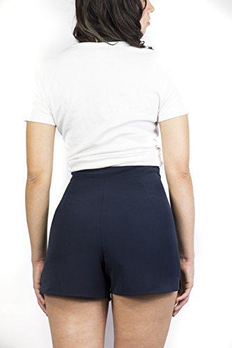 S Donna Vanessa Blu Scott scuro Blu Pantaloncini qwRYBf