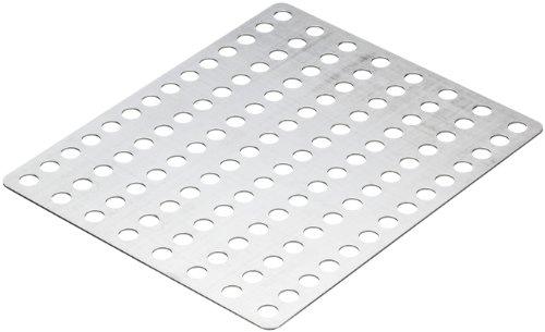 Wenko 7585100 Silber-Clean, Aluminium, 18.7 x 0.1 x 15.7 cm, Silber