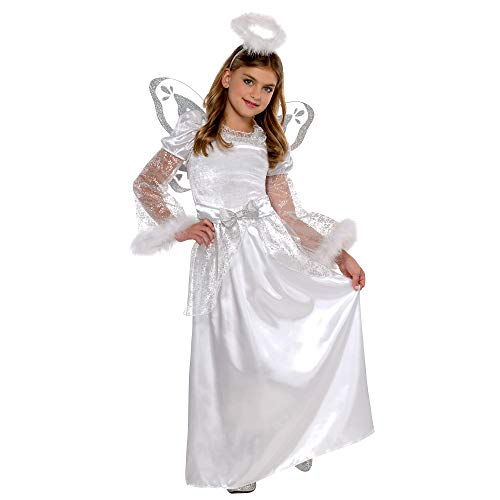 Children's Christmas Angel Costume | Large (12-14)