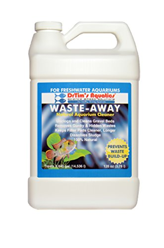 DrTim's Aquatics Waste-Away Natural Aquarium Cleaner, Freshwater 128 oz by DrTim's Aquatics