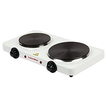 Caterlite elektrische Kochplatte doppelt