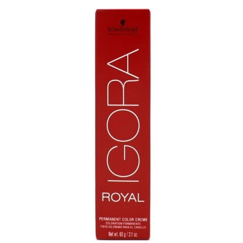 Schwarzkopf Professional Igora Royal Permanent Hair Color, 8-1, Light Blonde Cendre, 60 Gram (Best Hair Color For Grey Coverage 2019)