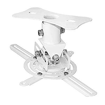 Pyle Universal Projector Ceiling Mount Kit with Telescoping Height and Angle Adjustment from Sound Around