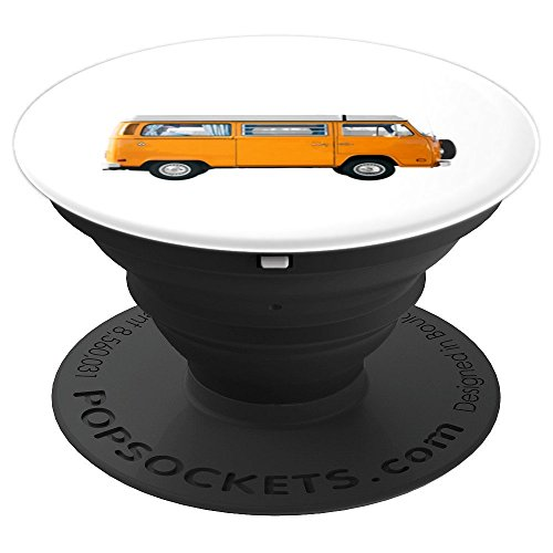 Free Spirit Hippy Van - PopSockets Grip and Stand for Phones and Tablets (Van Hippy)