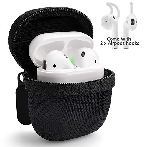 Shadowin Compatible with Airpods Hard Carrying Case - with One Pair of AirPods Hooks, Enhance Your Device Experience Now!