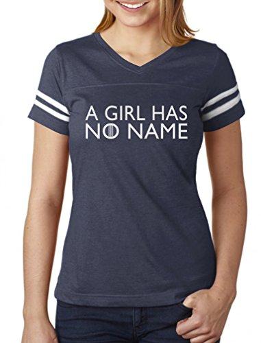 d113dc6e63 TeeStars - A Girl Has No Name Women Football Jersey T-Shirt XX-Large ...