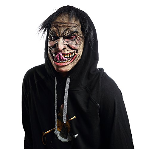 Mo Fang Gong She Halloween Mask Scary Clown Funny Man Cosplay Props Kinky Disguise Man -