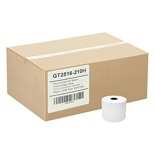 (24) Pay-At-Pump Thermal Paper Rolls 2-5/16 X 210 Gas Station