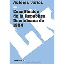 Constitucion de la Republica Dominicana de 1994