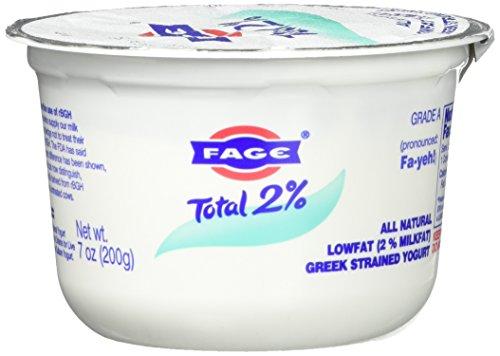 FAGE TOTAL, 2% Plain Greek Yogurt, 7 oz