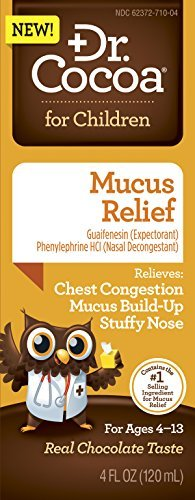 Dr. Cocoa Mucus Relief Medicine, 4 Ounce by Dr. Cocoa