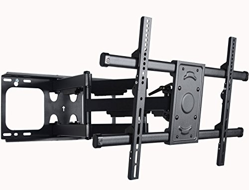 VideoSecu MW390B Full Motion Articulating TV Wall Mount Bracket for most 37