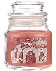 برطمان شمع معطر برائحة كيكة اليقطين بالبيكان من ماينستايز - 85 جرام