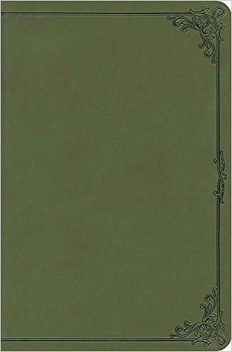 Esv Compact Bible Trutone Avocado Frame Design Esv Bibles By