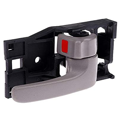 cciyu Door Handle Interior Front Rear Right Side Replacement fit for 2001-2007 Toyota Sequoia 2004-2006 Toyota Tundra 692050C030B0 Gray: Automotive