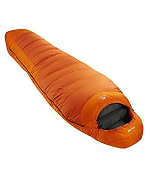 Mountain Equipment Titan 750 - Saco de dormir, Unisex, Titan 750, Flame/Russet Orange: Amazon.es: Deportes y aire libre