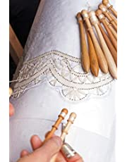 Bobbin Lace Notebook: Journal and notebook for boobin lace lovers . 120 lined pages