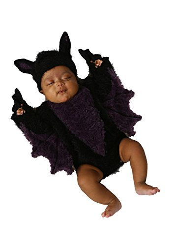 Princess Paradise Baby's Blaine The Bat, Black, 0 to 3 months