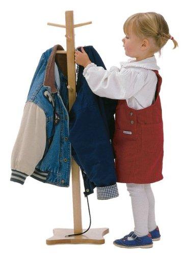 Maple Storage Coat Rack - 5
