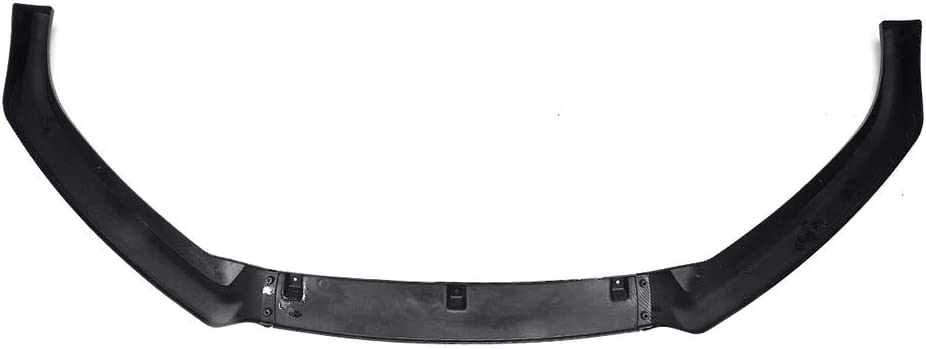 Spoiler Splitter Diffuseur Cover Avant de Voiture Pare-Chocs /à l/èvres Body Kit ZQQFR Auto Avant l/èvres Fit A4 B9 S4 2017 2018 3PCS Fibre de Carbone Regard//Noir