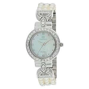 Phoenix Women's 22K White Gold Dress Watch - P21880-SMpS