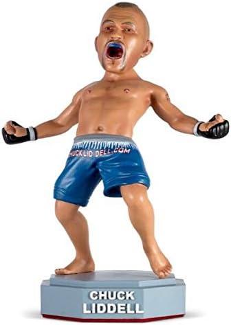 "peint à la main Chuck /""THE ICEMAN/"" Liddell UFC//MMABobblehead.com Exclusif"