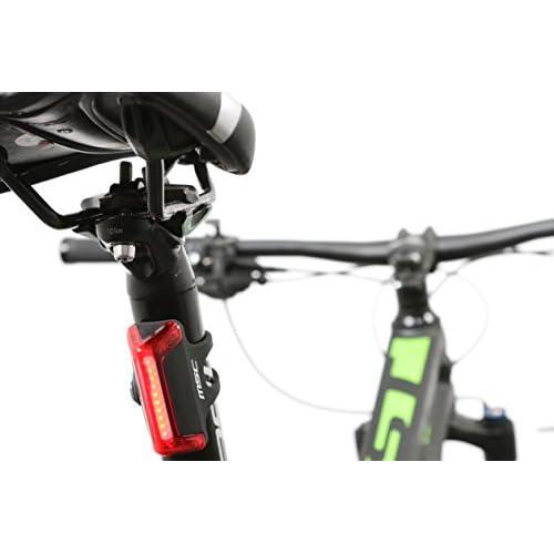 MSC Bikes Light Lumière arrière pour vélo, Noir, 40lumens