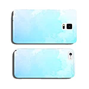 Vector abstract blue watercolor background cell phone cover case iPhone6