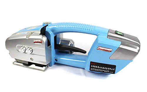 Portable Electric Baler Automatic Plastic Welding Tool Strapping Machine Battery Powered for PP/Plastic Steel Belt Strap - Strapping Width 0.5