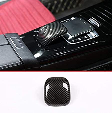 Carbon Fiber YIWANG ABS Car Central Control Armrest Decorative Cover Trim 1Pc For Benz A Class W177 2019 Auto Accessories