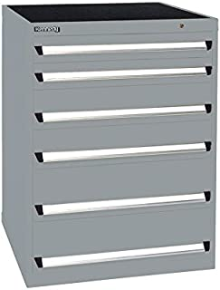 """product image for Kennedy Manufacturing 63411UGY Modular Drawer Cabinet, 30"""" Length, 30"""" Width, 40"""" Height, 6 NX Utility Drawers, Gray"""
