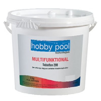 Hobby- Pool- Technologies GmbH Multifunktional Chlor Tabletten 200g 80% 5kg  von HP