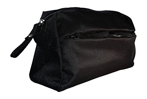 TSO Mens Wedding Party Toiletry Bag - Black Dopp Bag and Travel Toiletry Bag for Holding All Your Needs (9.25'' x 5'' x 3.75'') (Father of the Bride) by The Spoiled Office (Image #2)