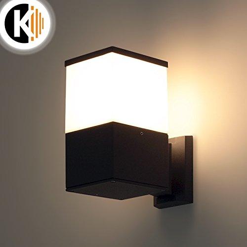 LED Leuchte Wandleuchte JULIET-1 E27 FASSUNG IP54 Aussenleuchte Außenlampe Wandlampe Gartenleuchte Flurleuchte 230V Kwazar Leuchte