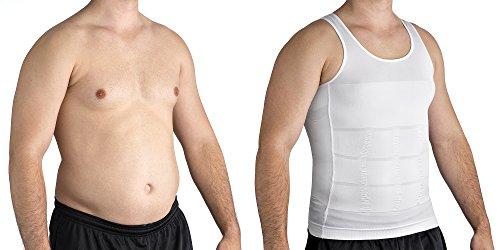 6418bd1f18 Roc Bodywear Men s Slimming Body Shaper Compression Shirt Slim Fit  Undershirt Shapewear Mens Shirts Undershirts USA