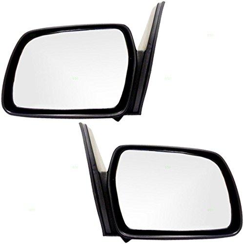 Driver and Passenger Manual Side View Mirror Replacement for Geo Chevrolet Suzuki 2 Door SUV 8470265A015PK 8470165A015PK (1997 Suzuki Sidekick Mirror)