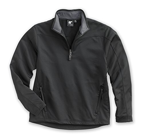 White Bear Clothing Co.Performance Pullover (3XL, Black/Charcoal) -