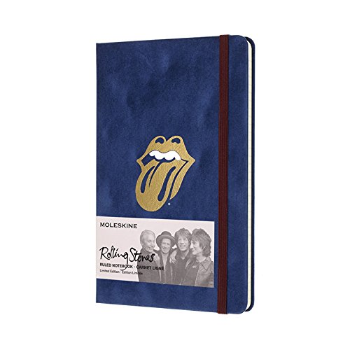 Moleskine Limited Edition The Rolling Stones Notebook, Hard Cover, Large (5