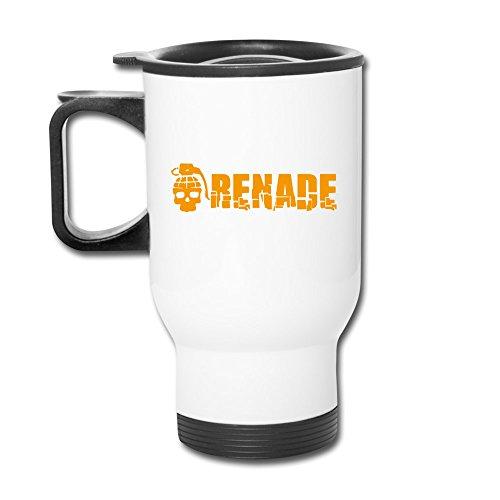 Cartoon Skull Grenade Fashion Portable Outdoor Sports Travel Mug