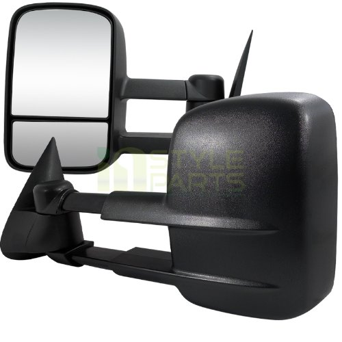 Hot 1997-2003 Ford F150 Towing Mirrors Power (Regular Cab and Super Cab model only, will not fit 4dr crew cab model)