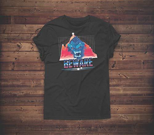 Beware The Yeti 80's Shirt