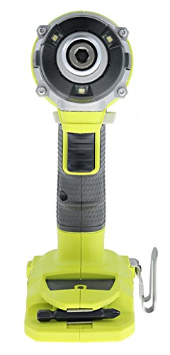 Ryobi P238 18V One+ Brushless 1/4 2,000 Inch Pound, 3,100 RPM Cordless Impact Driver w/ Gripzone Overmold, Belt Clip, and Tri-Beam LED (Power Tool Only, Battery Not Included) by Ryobi (Image #3)
