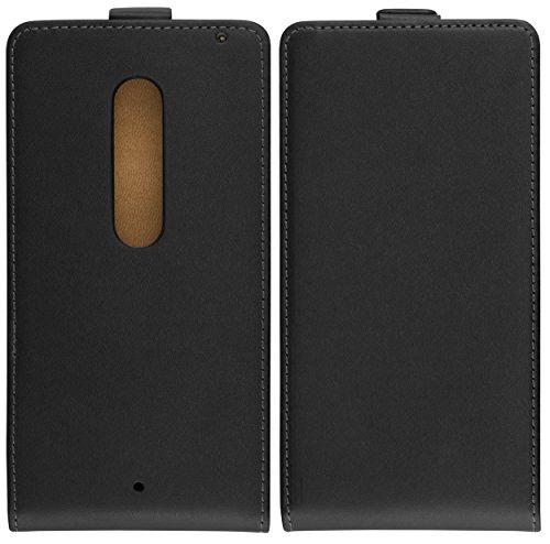 mumbi Flip Case für Motorola Moto X Play Tasche
