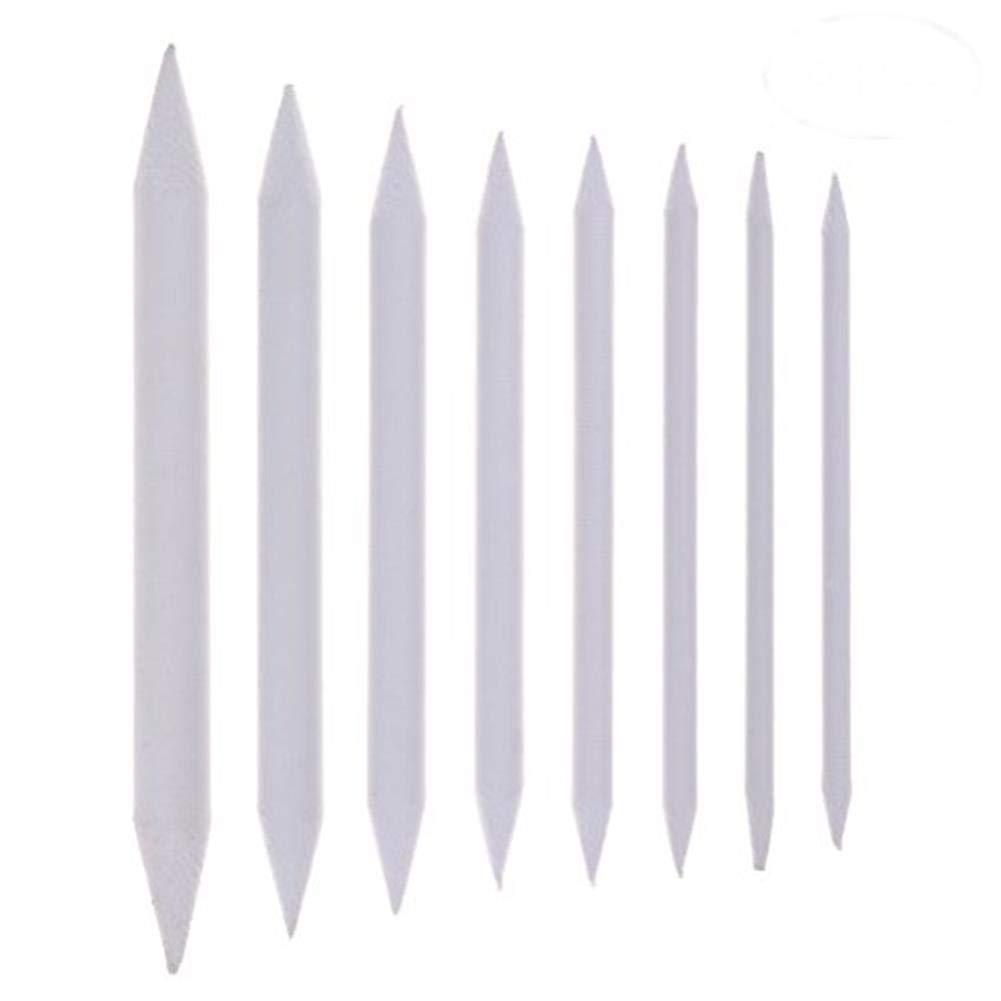 Osun 8pz Blending Stumps and Tortillions set un disegno strumenti per studenti bianco Art frullatori