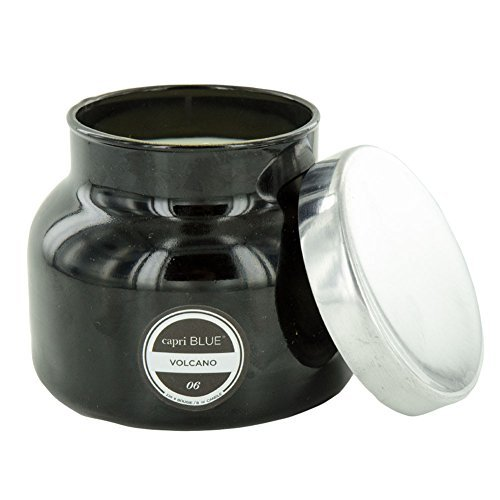 Capri Blue Petite Jar Volcano Black Candle, 1.1 - Capri Jar Candle