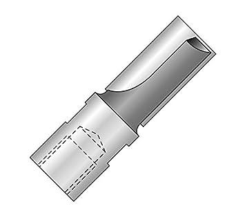 Nutfr/Ã/¤ser mit Innengewinde M10 30x25x60mm Z2