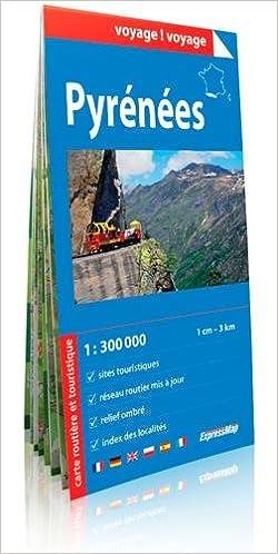 Livres gratuits PYRENEES  1/300.000 (papier) pdf