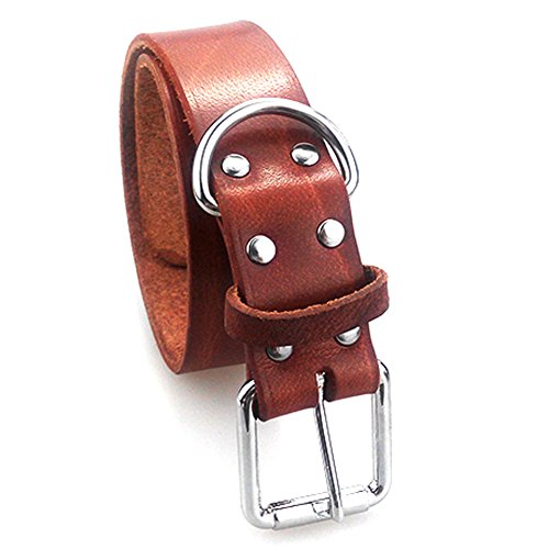 Funny-Honey-Pet-Dog-Basic-Collars-Duty-Grade-Luxury-Durable-Leather-Training-Collar-for-Small-Medium-Large-Dogs