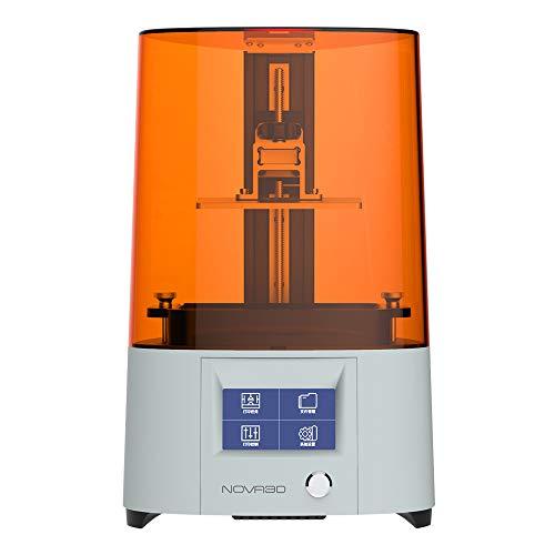 NOVA3D Elfin2 Mono SE 3D Printer UV Photocuring LCD Resin Printer with 2K Monochrome Screen Free of Leveling…